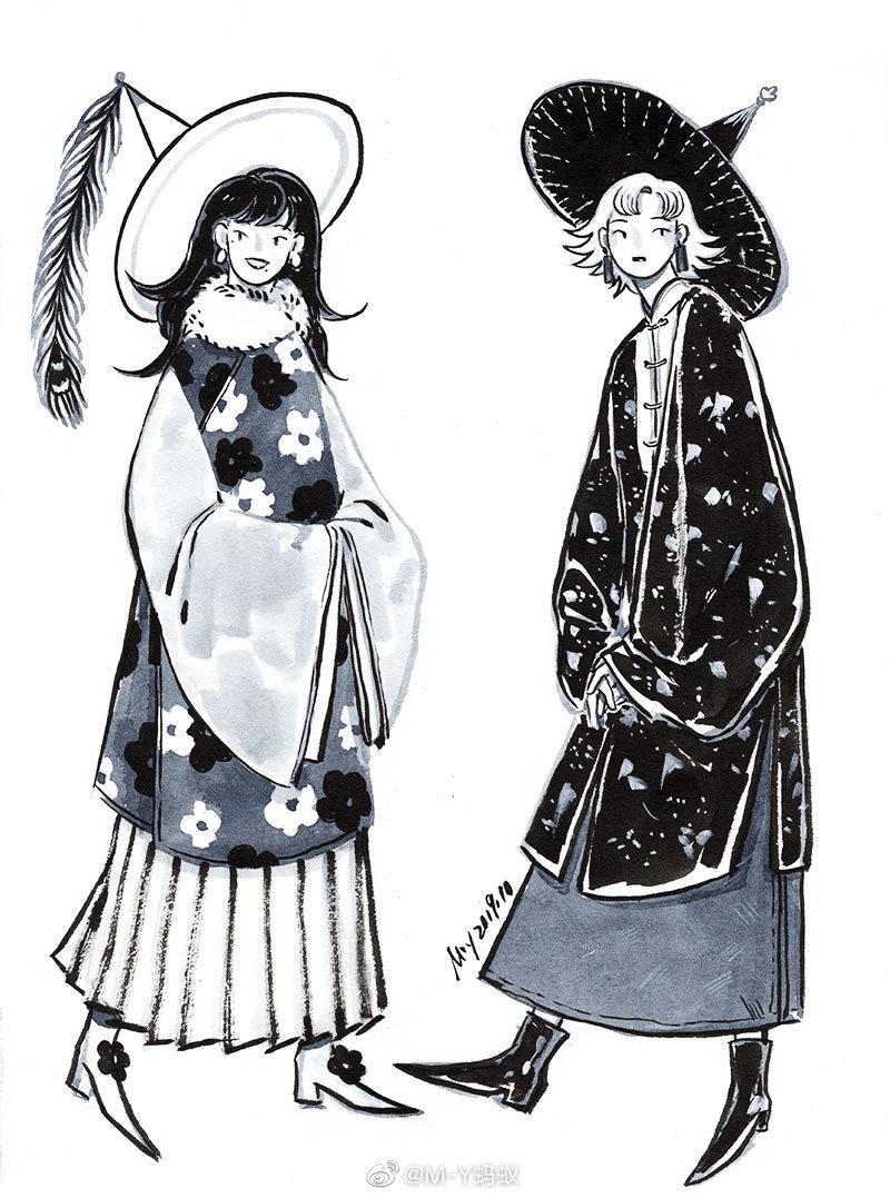 来自东方的她他——东方魔法师秋冬系列   (1).jpg